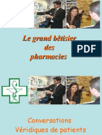 Le betisier des pharmacies