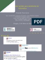 Web 2.0 y redes sociales para estudiantes de informática
