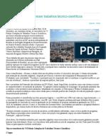 Codeplan e Fibra premiam trabalhos técnico-científicos