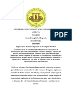 ENSAYO DE INVESTIGACION EDUCATIVA JUANA