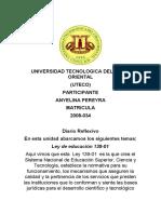 diario Reflexivo ANYELINA