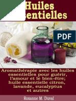 Huiles Essentielles - Aromather - Duval, Roxanne M_