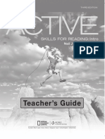 Active Skills for Reading INTRO 3Ed Teacher's Guide