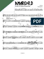 Rota N. - Amarcord - Suite - Brass Ensemble - Trumpet in C 1