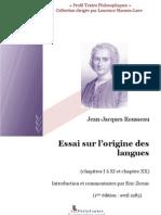 Origine Des Langues