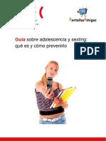 Guía sobre adolescencia y sexting