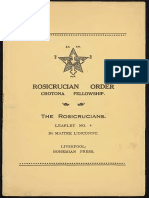 Spell Witch Reviews - Rosicrucian Order Crotona Fellowship