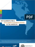 Key Elements for a Competitiveness Agenda in the Americas