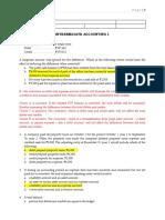 INTERMEDIATE ACCOUNTING 1(1)
