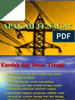 APAKAH TENAGA