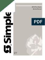 Simplex 4010 Manual de Service
