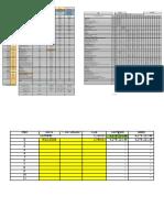 Modelo Planilha de Medição