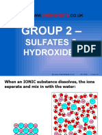 3 2 2 Chemsheets as Group 2 Sulfates and Hydroxides