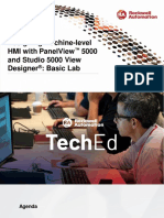 TechED EMEA 2019 - VZ03 - Designing Machine-level HMI with PanelView™ 5000 and Studio 5000 View Designe
