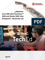 TechED EMEA 2019 - VZ04 - Designing Machine-level HMI with PanelView™ 5000 and Studio 5000 View Designe