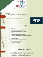 Transformateur de Tension