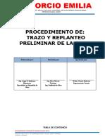 01.PRO-CLA-TNR-001 PROCEDIMIENTO DE TRAZO, NIVELACION Y REPLANTEO OK
