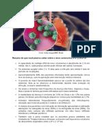 Resumo Novo Coronavirus e Covid19