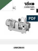 INSTRUCTION MANUAL(three rotor screw pump-e(MSH))