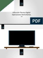Inducción Técnica Digital Actualizado Diciembre 2020 V1 Manual VTR Actualizado