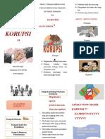 Bencana Korupsi Leaflet