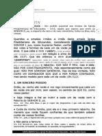 CARTA ABERTA - Rev. Jucelino Souza Em PDF