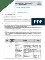 8.1 PLAN DE CONTINGENCIA 1RO-A S17