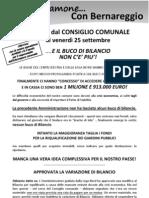 Parliamone Con Bernareggio Ottobre 2009