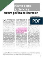 VARESI, Gastón Angel. El comunismo como ideología, ciencia y cultura política de liberación