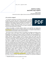 ANSALDI, Waldo (2013) América Latina, una liebre muy esquiva