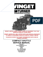 Winget Turner Compact Shuttle Transmission Manual