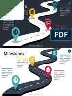 Milestones Infographics