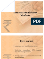 International Forex Markets