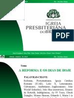 Reforma_Protestante - Palestra Em Powerpoint - Rev. Jucelino Souza