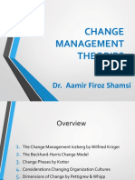 KUBS - Chapter 4 - Change Management Theories