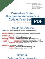 Procédure civile présentation
