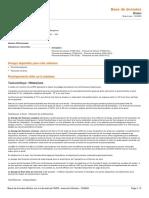 Fluorures inorganiques et Fluor sang et urine