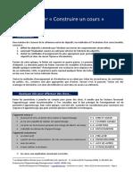Constuire Un Cours Avec 8 Cles PDF