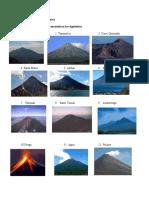 Volcanes de Centroamérica
