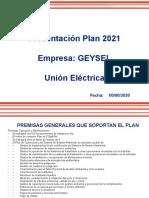 Presentación Patrón Empresas GEYSEL Plan 2021 V2 - 13012021