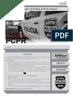 AlfaCon Simulado 19-04-2020 Investigador Papiloscopista Pcpr Caderno Prova