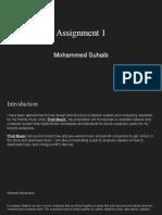 unit 11 assignment 1- suhaib