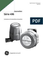 496specificationsFR transmeetteur