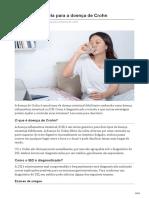Tratamento e Dieta Para a Doença de Crohn
