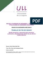 Diseno Mecanico y Estructural Para Elevacion, Reclinacion y Desplazamiento Lateral de Una Silla de Ruedas Electrica