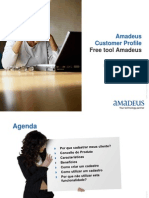 Amadeus Customer Profile - Webinar Mar 2011