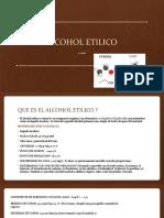oral organica (1) alcohol etilico