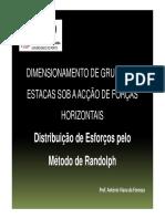 Fonseca - Dimensionamento de Grupos de Estacas