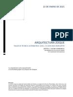 arquitectura tzoque