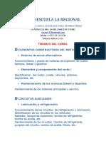 Temario Curso La Regional